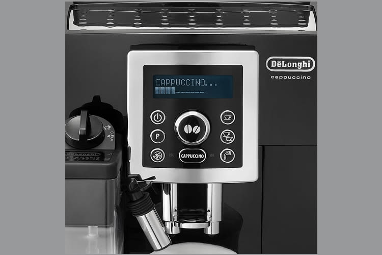 Der DeLonghi ECAM 23.466.B Kaffeevollautomat hat eine 2-Tassen-Funktion