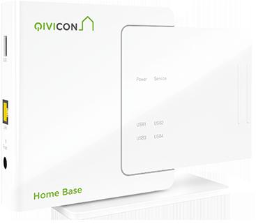 Abbildung der Qivicon Home Base