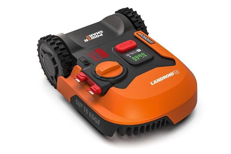 Worx Landroid M500 bearbeitet Rasen mit einer Größe von bis zu 500 Quadratmetern und lässt sich per Handy managen