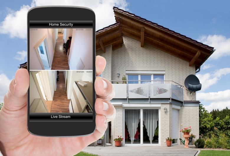 Hausüberwachung per App
