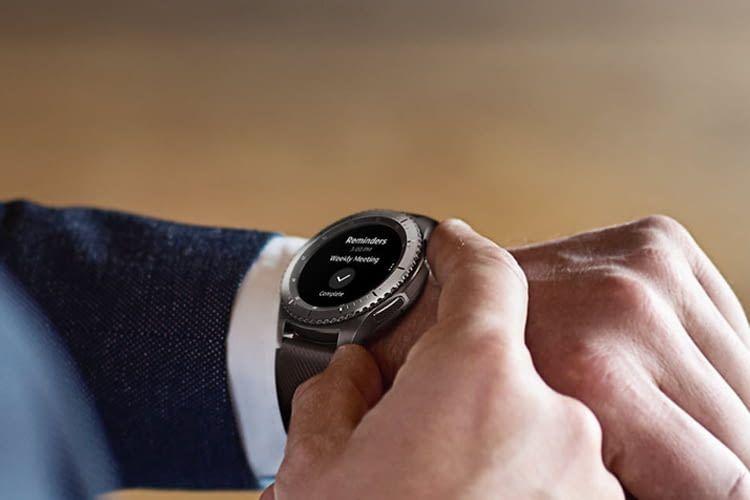 Termine, Erinnerungen und Nachrichten lassen sich mit der Samsung Gear S3 frontier abrufen