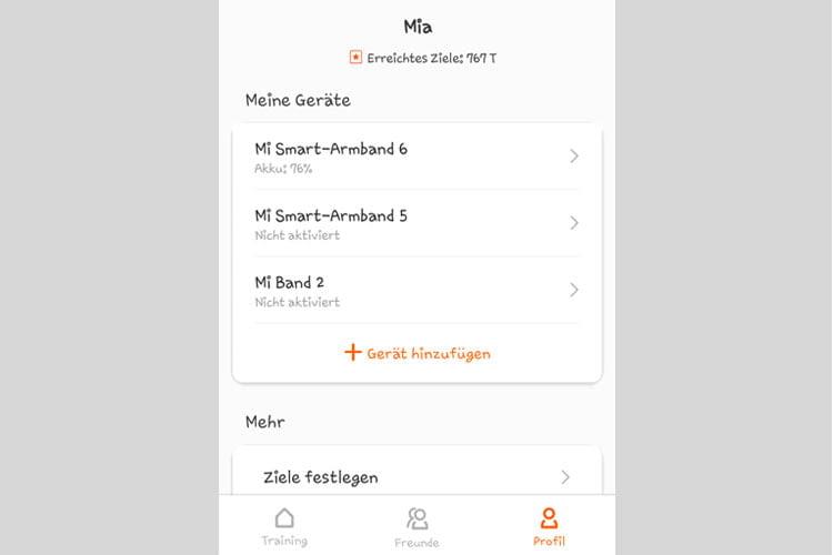 Wir nutzen die Mi Fit App bereits seit mehreren Jahren