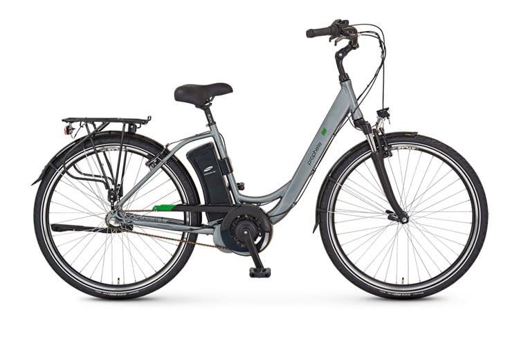 Grundsolides City E-Bike mit guter Komponentenauswahl: City E-Bike PROPHETE GENIESSER e9.6