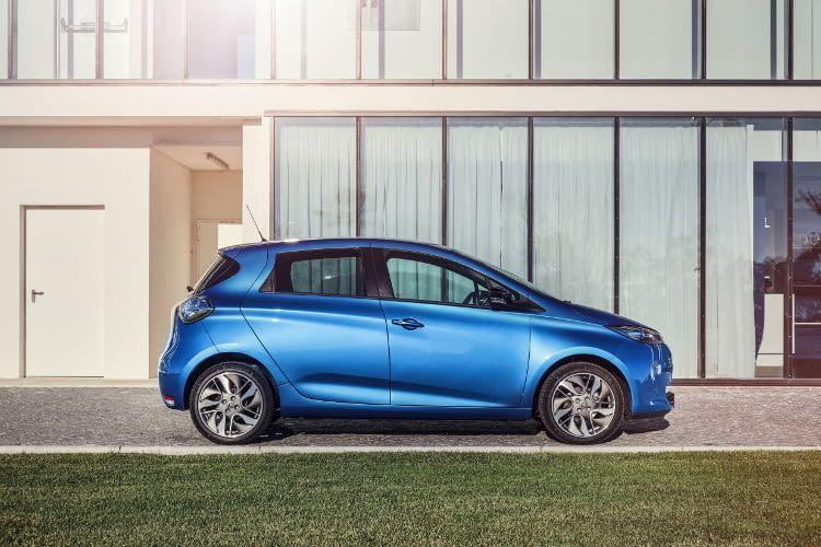 Der Renault ZOE führt die Spitze der Zulassungsstatistik in Deutschland an
