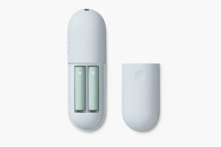Die nötigen Batterien für die Chromecast Fernbedienung sind im Lieferumfang enthalten