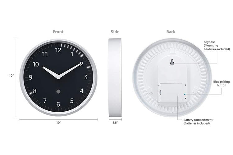 Die Echo Wall Clock kann auch mehrere Alexa-Timer gleichzeitig darstellen
