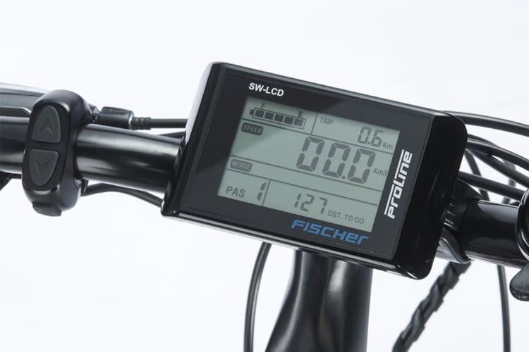 FISCHER Trekking Herren ETH 1606 kommt mit smartem LCD-Bediendisplay