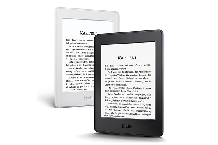 Der E-Book-Reader Kindle Paperwhite von Amazon eignet sich hervorragend für Pendler und alle, die viel unterwegs sind