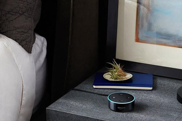 Einschlafen ohne Reue - Alexa beendet die Musikwiedergabe automatisch und spart damit Strom