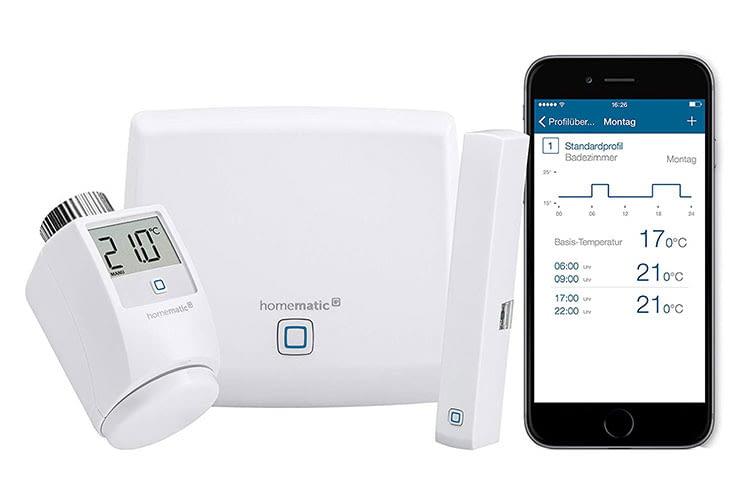 Viele Sets für Smart Home System Neulinge bestehen aus einem Komplettpaket mit dem nötigen Hub