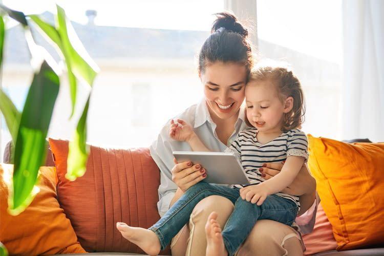 Werden Kinder behutsam an die Mediennutzung heran geführt, können Tablets eine echte Bereicherung sein