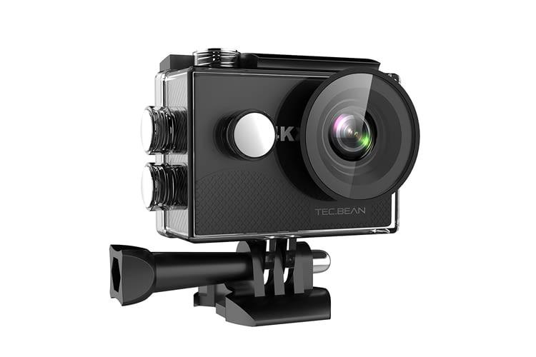 Die TEC.BEAN Actioncam kann auch als Helmkamera genutzt werden