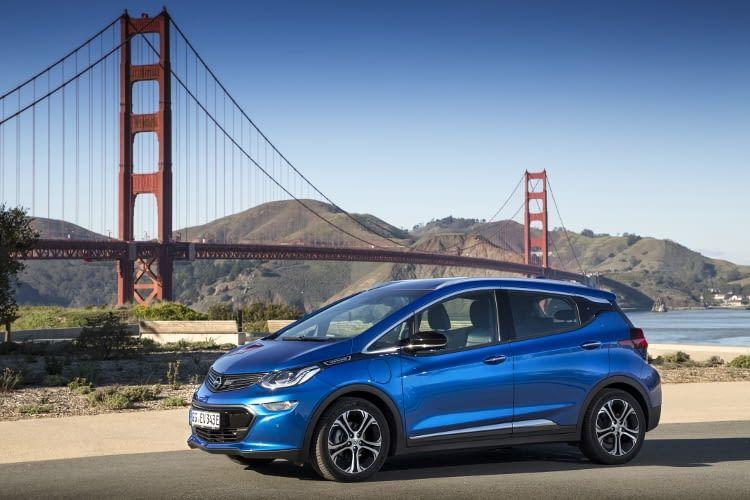 Der Opel Ampera-e landet mit 383 Kilometern Reichweite auf Platz 6 des Vergleichs