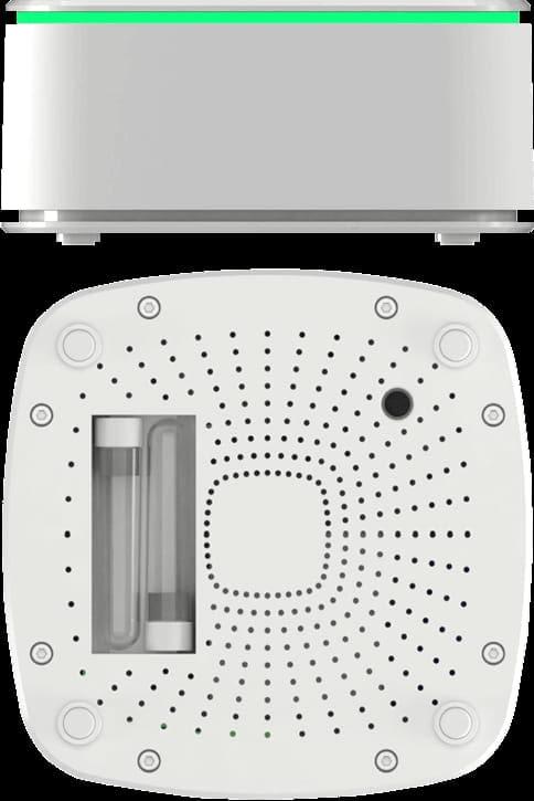 Nuvap N1 und Nuvap N1R - Seitenansicht und Rückansicht