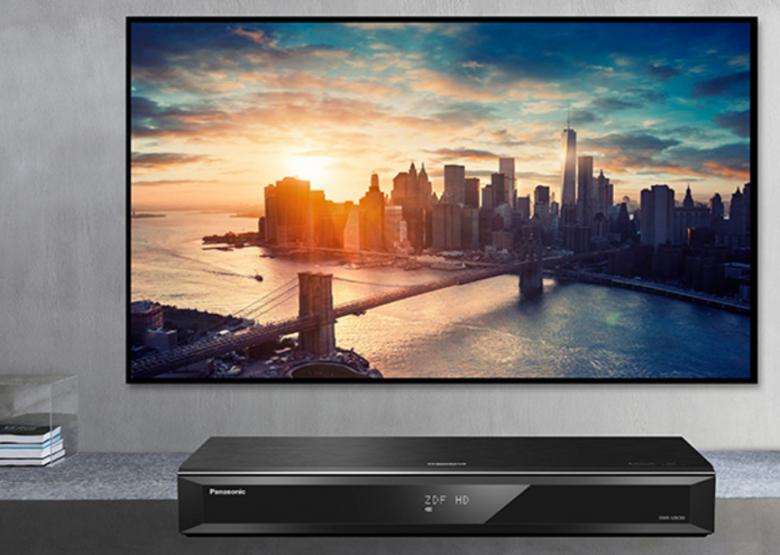 Ultra-HD Recorder von Panasonic sorgen für höchste Bildqualität