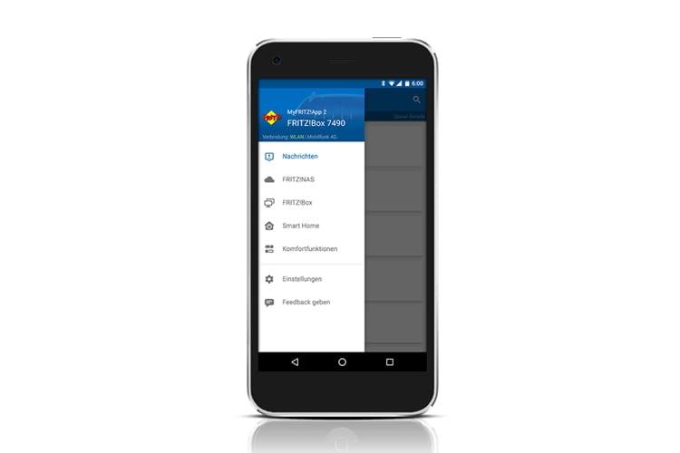 Mit der MyFRITZ!App lassen sich alle Geräte einheitlich steuern