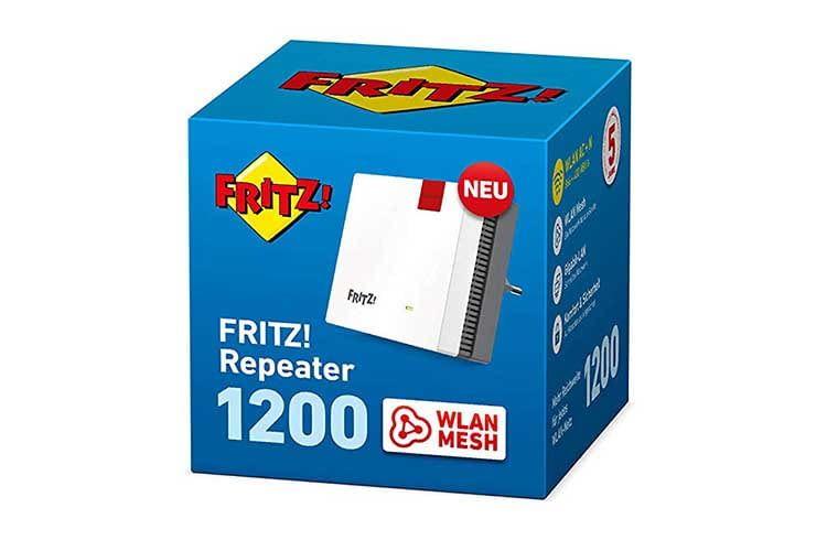 Der solide AVM FRITZ!Repeater 1200 überzeugt mit guten technischen Daten und Preis-Leistungsverhältnis