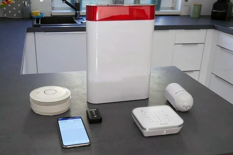 Das ABUS Secvest Alarmsystem ließ sich im Test bequem per App steuern und flexibel erweitern