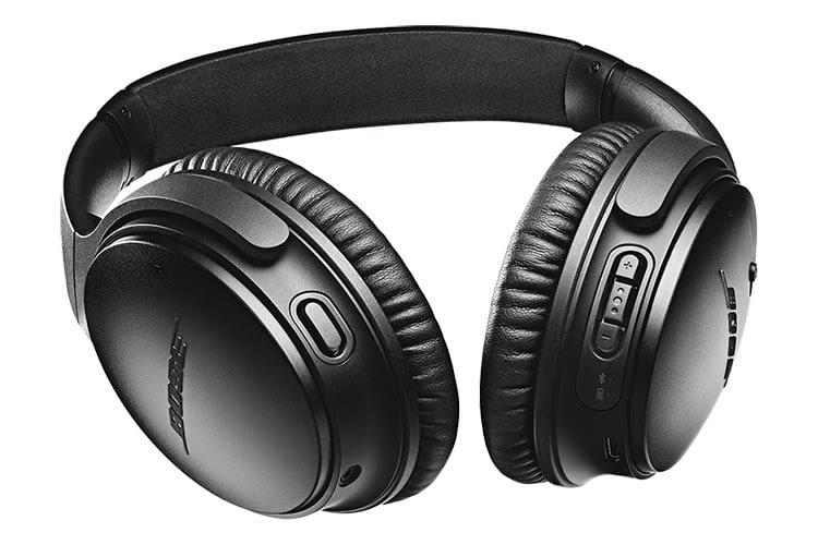 Bose QuietComfort 35 II setzt auf Bedienknöpfe und ist Alexa-kompatibel
