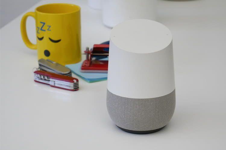 Google Home ist deutlich größer und hat bessere Audio-Qualität