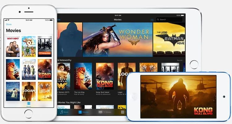 Nur was für Apple-Jünger: iTunes Video