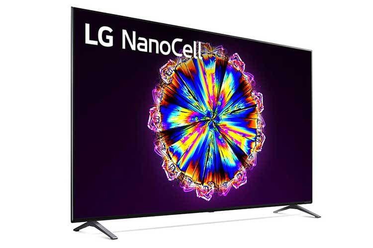 LG 75NANO906NA 75 Zoll TV: NanoCell ist LGs Antwort auf Samsungs QLED Technologie. Eingesetzt werden die Nano Teilchen bei IPS Displays