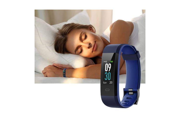 Der YAMAY SW352 Schlaftracker kann auch als Wecker genutzt werden