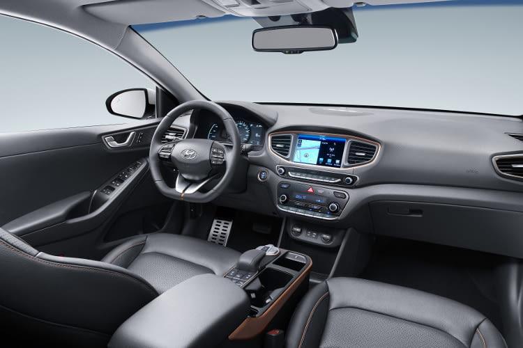 Hyundai IONIQ Elektro - auch im Innenraum gut verarbeitet