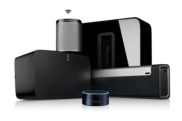 Sonos-Lautsprecher sind in Verbindung mit Amazon Echo über Sprachbefehle nutzbar
