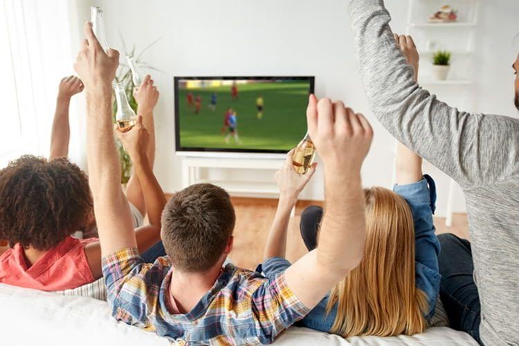 Beim Fußball ist die ruckelfreie Übertragung in Echtzeit besonders wichtig