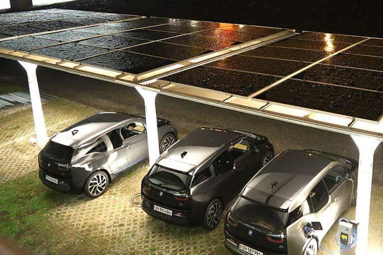 Die Solar Carports erfüllen alle modernen Ansprüche an einen guten Parkplatz