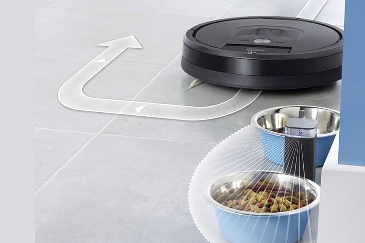 Per Dual Mode können Gegenstände in einem 70 Grad-Winkel abgeschirmt werden