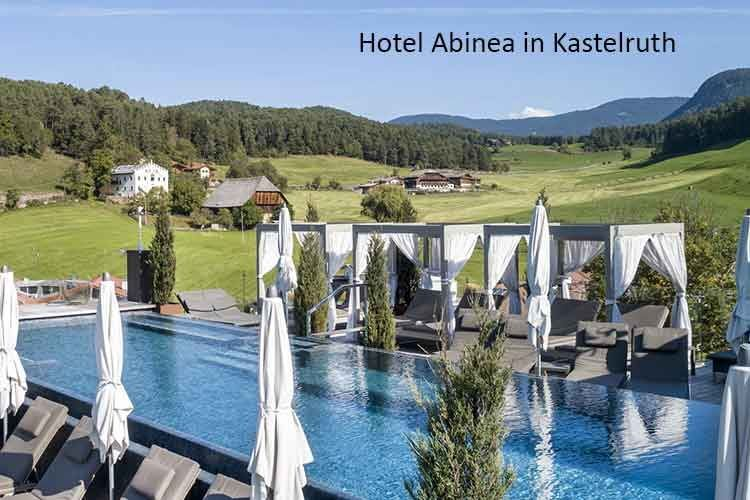 Das Hotel Abinea in Kastelruth nutzt das myGEKKO System unter anderem für die Schwimmbadsteuerung