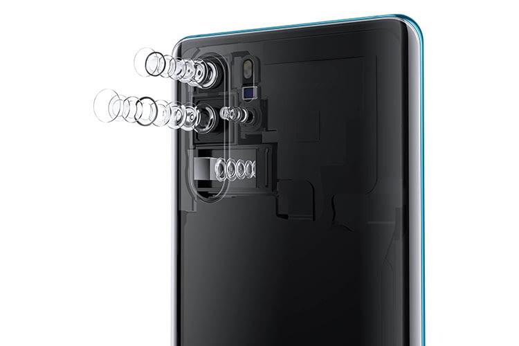 Überzeugt in Tests: Die 4-fach Kamera von HUAWEI P30 Pro