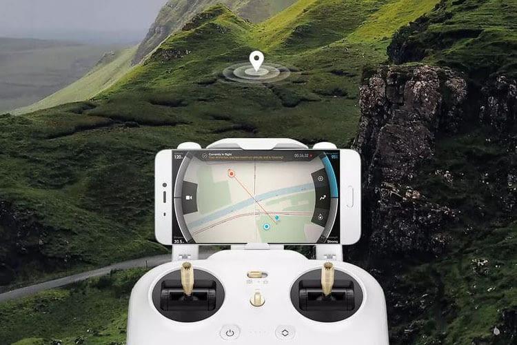 Xiaomi Mi Drone 4K unterstützt GPS und GLONASS