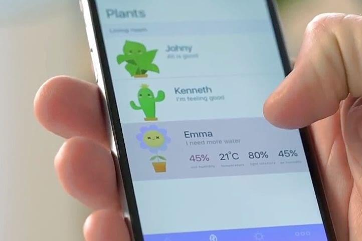 Mit der Grovio App kann der Besitzer jederzeit nach dem Rechten sehen und notfalls eingreifen