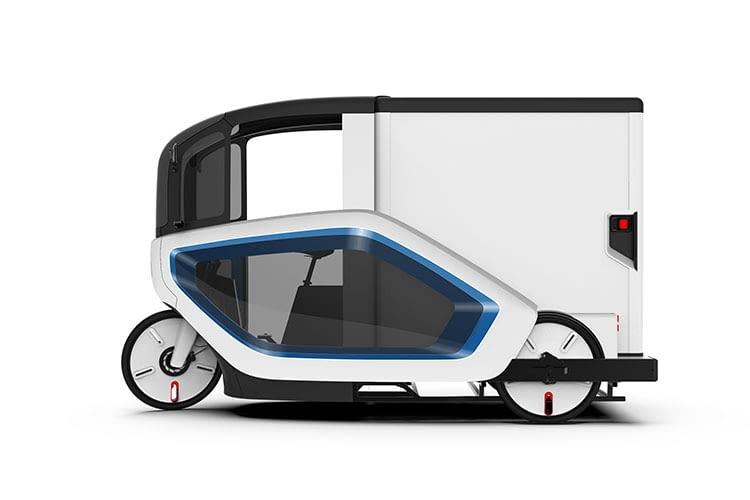 Fahrer eines ONO E-Cargobikes benötigen keinen Führerschein