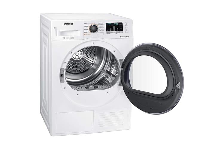 Die Trocknung erfolgt auch bei Samsung DV81M5210QW/EG sensorgesteuert