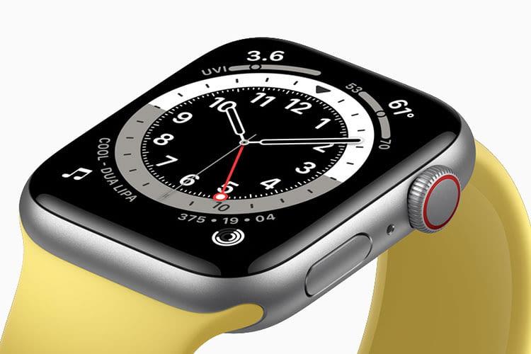 """Im Gegensatz zu Apple Watch Series 6 ist das Retina Display der SE-Version nicht """"Always on"""""""