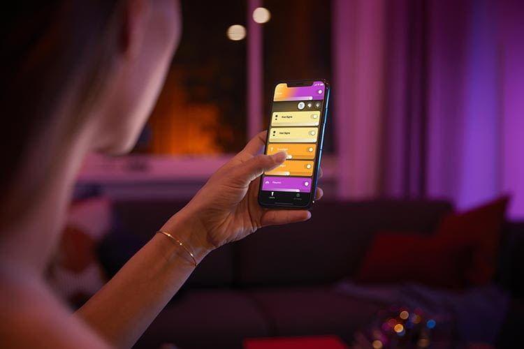 Die Einrichtung des Philips Hue Smart Plugs erfolgt über die App