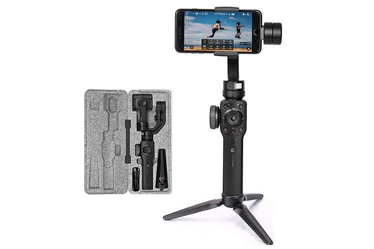 ZHIYUN SMOOTH 4 Smartphone-Kamera-Stabilisator mit schnellem Motor für Sport-Szenen