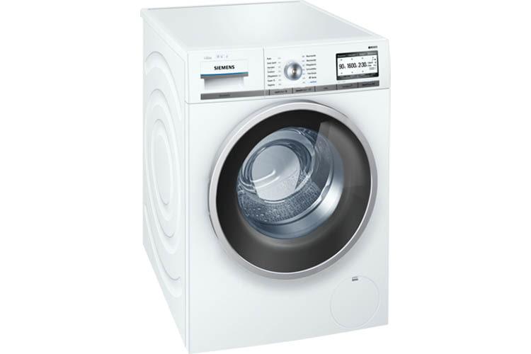 Die Siemens Home Connect-Waschmaschine lässt sich dank Alexa Skil per Sprache steuern