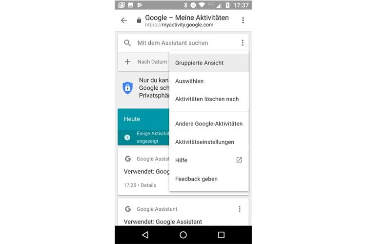 Wir haben ausprobiert, wie sich die Google Home Suchhistorie am besten löschen lässt