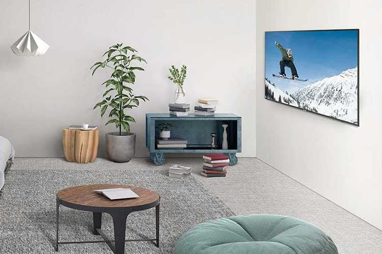 Der LED-TV Samsung RU7179 bietet einen günstigen Einstieg in die Welt der 65 Zoll Fernseher