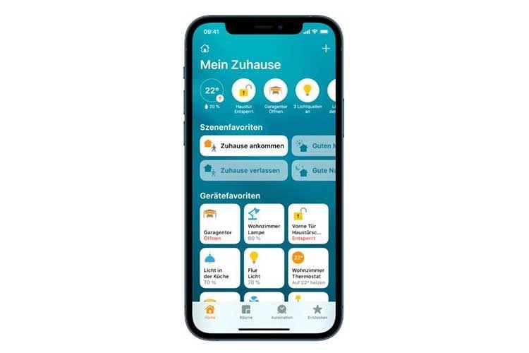 Das Apple iPhone als Smart Home Steuerzentrale