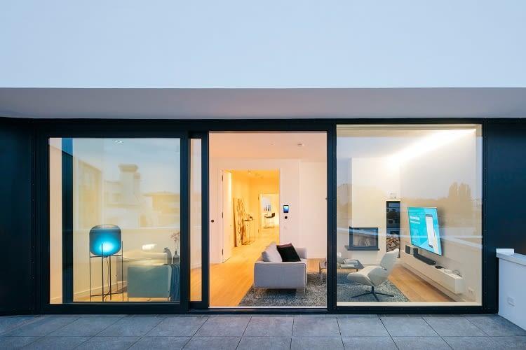 Auch das Muster-Smart Home Apartimentum wird mit OSRAM beleuchtet