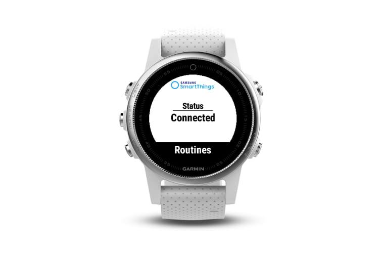Mit einer Garmin Smart Watch tragen wir unsere Smart-Home-Steuerung am Handgelenk