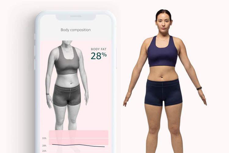 Die Körperfettanalyse per App ist leider nur durch Buchung eines Abos möglich