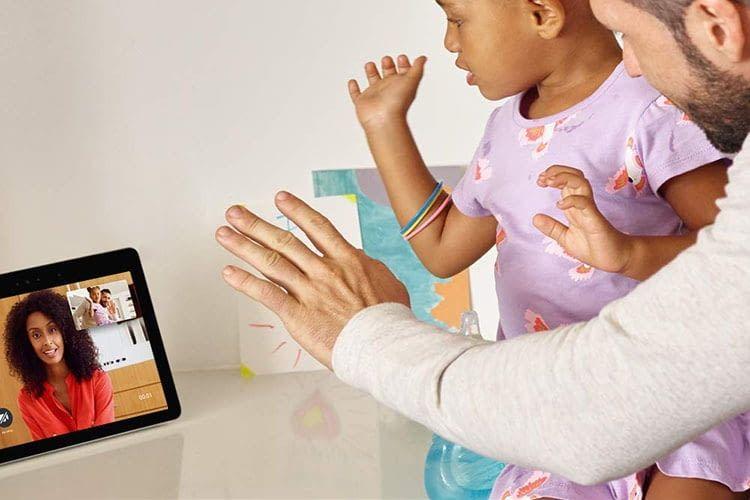 Videokommunikation mit dem Amazon Echo Show 2. Generation