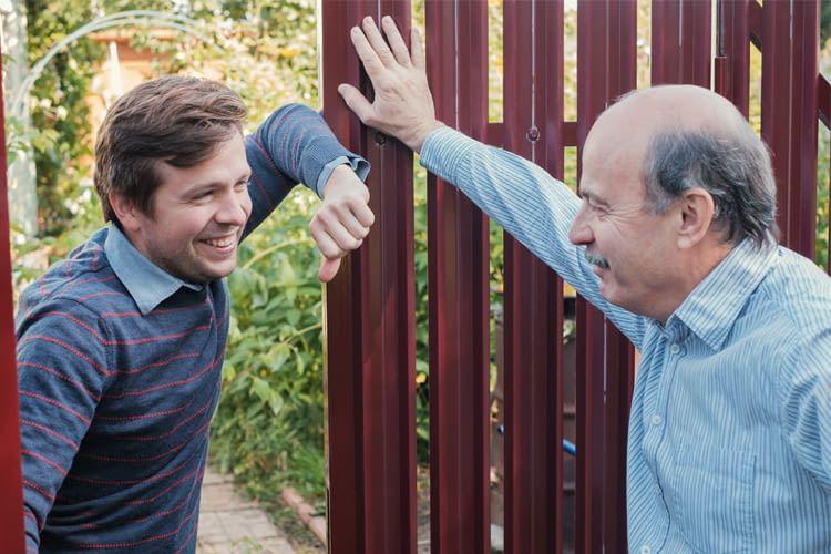 Wer sich mit seinen Nachbarn austauscht, erfährt schneller von verdächtigen Ereignissen